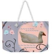 White Goose Series 1 Weekender Tote Bag