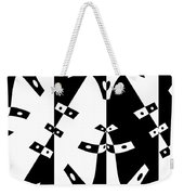 White Gravity Weekender Tote Bag