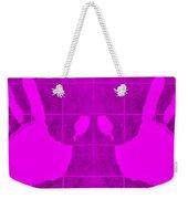 White Hands Purple Weekender Tote Bag