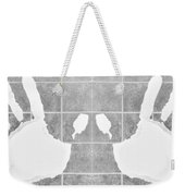 White Hands White Weekender Tote Bag