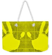 White Hands Yellow Weekender Tote Bag