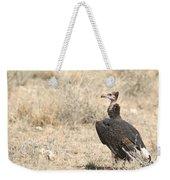 White-headed Vulture  Trigonoceps Occipitalis Weekender Tote Bag