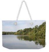 White Heron Lake Poconos Pa II Weekender Tote Bag by John Telfer