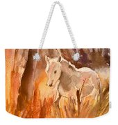 White Horse In The Camargue 01 Weekender Tote Bag