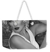 White Hot Palm Springs Weekender Tote Bag