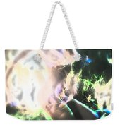 White Hot Fire Dancer Weekender Tote Bag