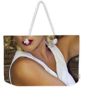 White Hot Color Palm Springs Weekender Tote Bag