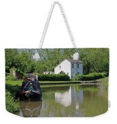 White House And House Boat Weekender Tote Bag