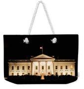 White House At Night Weekender Tote Bag