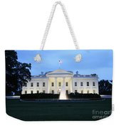 White House In Eveninglight Washington Dc Weekender Tote Bag