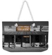 White House Saloon Weekender Tote Bag