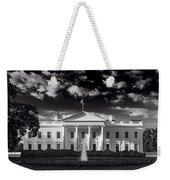 White House Sunrise B W Weekender Tote Bag