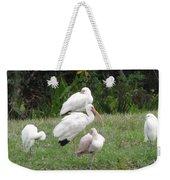 White Ibis Bliss Weekender Tote Bag