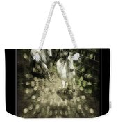 White Into Flares Weekender Tote Bag