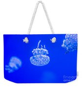 White Jelly Fish Weekender Tote Bag