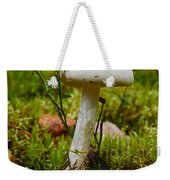 White Killer Weekender Tote Bag