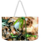 White Lady Weekender Tote Bag
