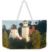 White Lighthouse Weekender Tote Bag