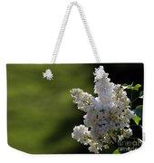 White Lilac Weekender Tote Bag