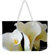 White Lily Trio Weekender Tote Bag