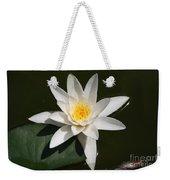 My White Lotus Weekender Tote Bag