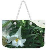 White Lovely Weekender Tote Bag