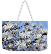 White Magnolia Magnificence Weekender Tote Bag