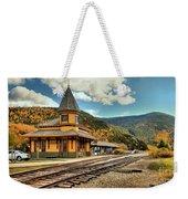White Mountans Crawford Train Depot Weekender Tote Bag