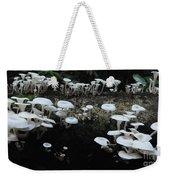 White Mushrooms Amazon Jungle Brazil 1 Weekender Tote Bag
