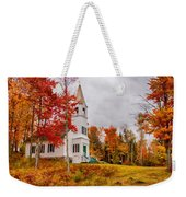 White New Hampshire Church Weekender Tote Bag