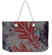 White Oak Leaf Weekender Tote Bag
