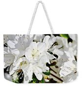 White On White Weekender Tote Bag