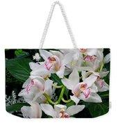 White Orchid In Full Bloom Weekender Tote Bag