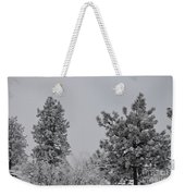 White Out Weekender Tote Bag