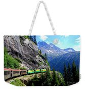 White Pass And Yukon Route Railway In Canada Weekender Tote Bag