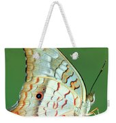White Peacock Butterfly Anartia Weekender Tote Bag