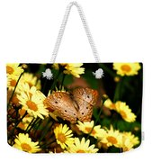 White Peacock Butterfly I I Weekender Tote Bag