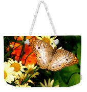 White Peacock Butterfly I V Weekender Tote Bag