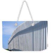 White Picket Fence Weekender Tote Bag