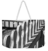 White Picket Fence Portsmouth Weekender Tote Bag
