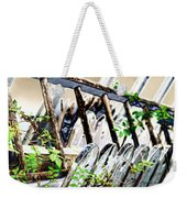 White Picket Fence Weekender Tote Bag