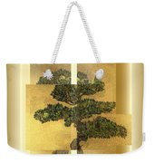 White Pine Bonsai Weekender Tote Bag