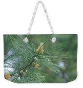 White Pine Flower N Spittle Bug Weekender Tote Bag