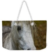 White Pony Weekender Tote Bag