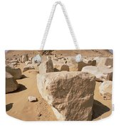 White Pyramid Of King Snefru Weekender Tote Bag