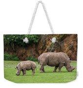 White Rhino 11 Weekender Tote Bag