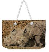 White Rhino 2 Weekender Tote Bag