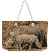 White Rhino 4 Weekender Tote Bag