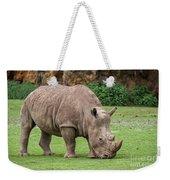 White Rhino 5 Weekender Tote Bag