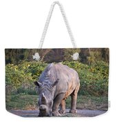 White Rhinoceros  Weekender Tote Bag